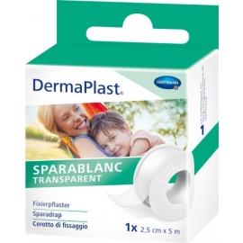 SPARABLANC TRANSPARENT 2.5 CM X 5 M DERMAPLAST®