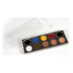 Maquillage Fard crème palette de 10 pots