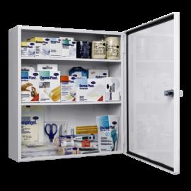 Armoire de pharmacie, remplie