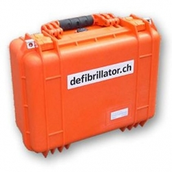 PeliCase de Transport orange, étanche air-eau incl. Mousse interne