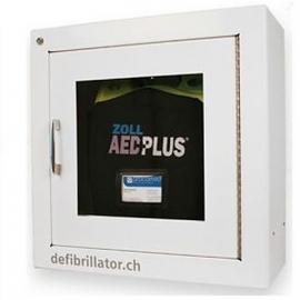 Boîtier mural avec alarme pour défibrillateur ZOLL AED Plus / AED 3
