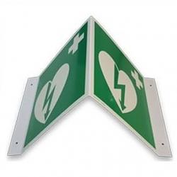 Signalisation AED, Alu-Triangle Réfléchissant