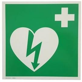 Signalisation AED, Autocollant Réfléchissant
