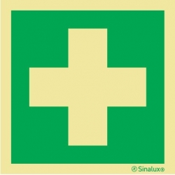 Signalisation autocollant pharmacie 200 x 200mm