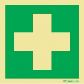 Signalisation autocollant pharmacie 150 x 150mm