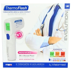 Thermomètre ThermoFlash infrarouge sans contact