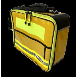 Sac Compak jaune - magnétique, PVC