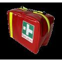 Trousse de secours patrouilleur PVC rouge