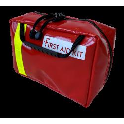 First Aid Kit PVC rouge avec masque de poche