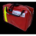 First Aid Kit PVC rouge complète avec pansement compressif CHUT