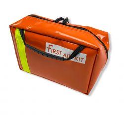 First Aid Kit mini PVC rouge avec beaucoup de rangement