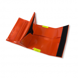 Porte-monnaie PVC orange