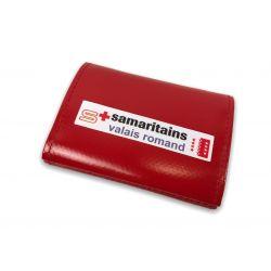 Porte-monnaie PVC rouge