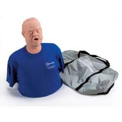 Mannequin de formation Heimlich obèse