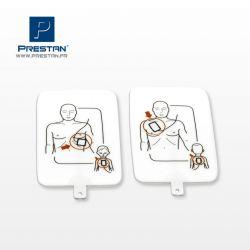 Electrodes pour AED UltraTrainer Prestan