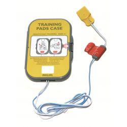 Electrodes de défibrillation d'entraînement Philips Heartstart FRX