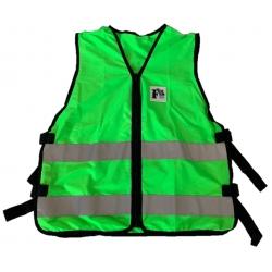 Gilet d'évacuation vert sans poches