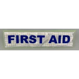 Bande velcro FIRST AID pour sacs et gilets