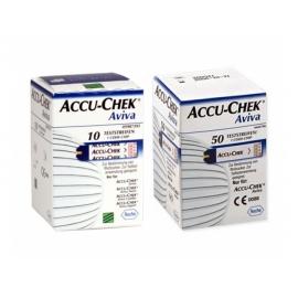 Bandelettes à glycémie Accu-Check® 50 pièces