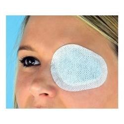 Compresse oculaire adhérante