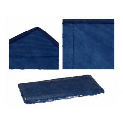 Couverture jetable standard bleu, 190 x 110