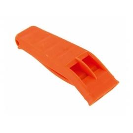 Sifflet d'urgence « Perry » en plastique orange