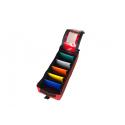 Trousse Rapido Vertik M Rouge 5 séparations