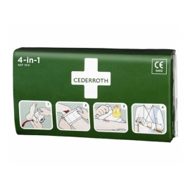 Pansement multi-usages Cederroth 4-in-1