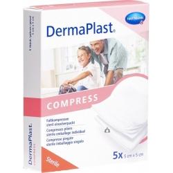 COMPRESSES PLIÉES 5 X 5 CM DERMAPLAST®